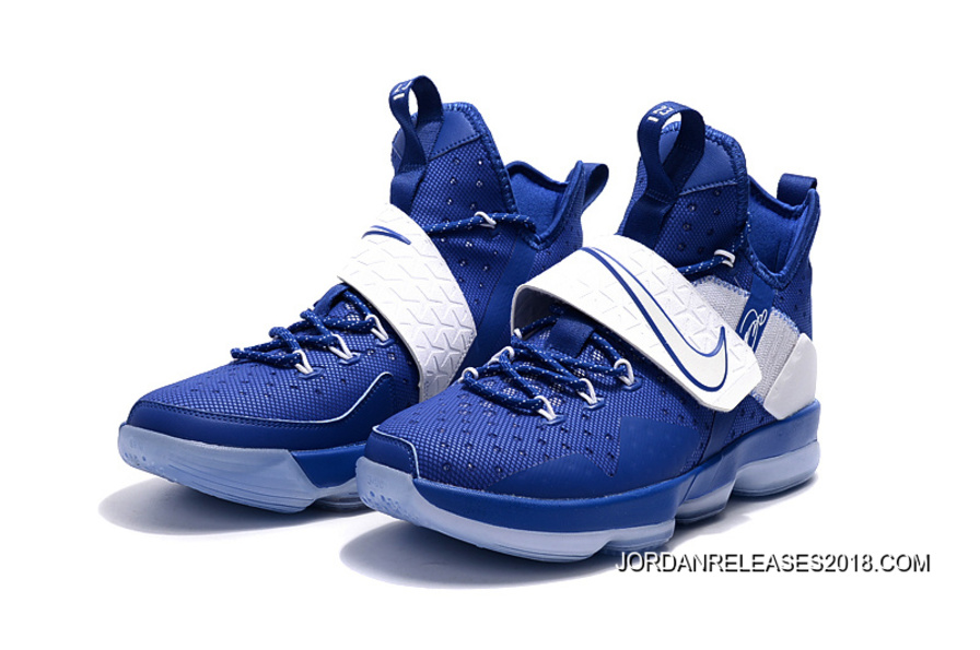 "buy online 0a99f e955c Nike LeBron 14 ""Deep Royal Blue"" 2018 Outlet"