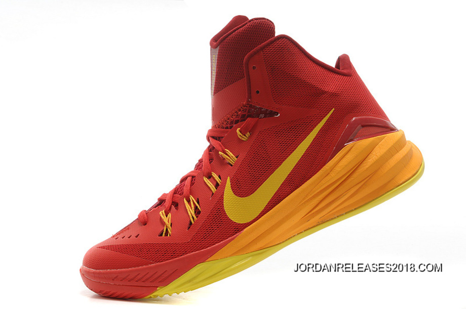 "cheaper b7598 41065 ... 2018 New Style Nike Hyperdunk 2014 ""Spain"" University Red University  Gold-Team ..."