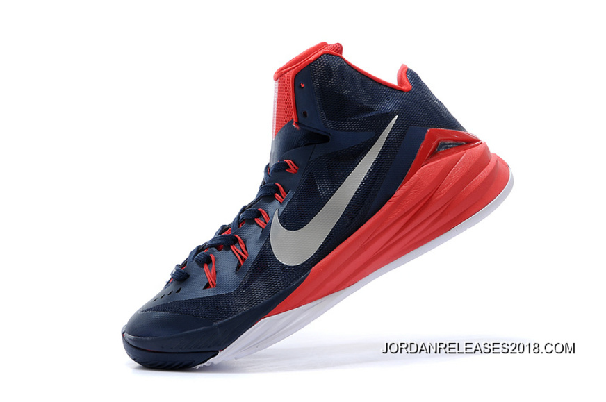 "636c11905802 2018 New Year Deals Nike Hyperdunk 2014 ""USA Away"" Obsidian White-University"