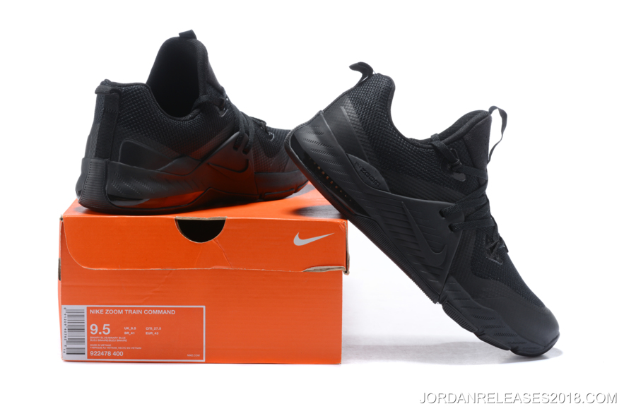 """new products 0801a 12c03 ... Nike Zoom Train Command """"Triple Black"""" 922478-004 2018 New Release ..."""