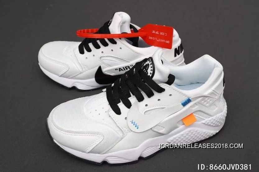 pretty nice d96d6 5f0c3 Men OFF-WHITE X Nike Air Huarache Running Shoes SKU40494-376 Outlet
