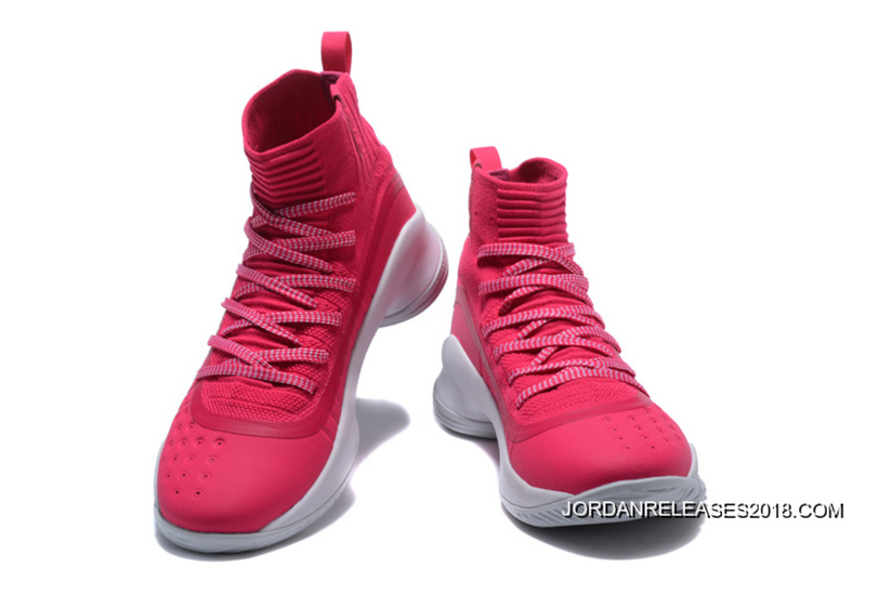 fb583f923e8f 2018 Online Under Armour Curry 4 Pink White